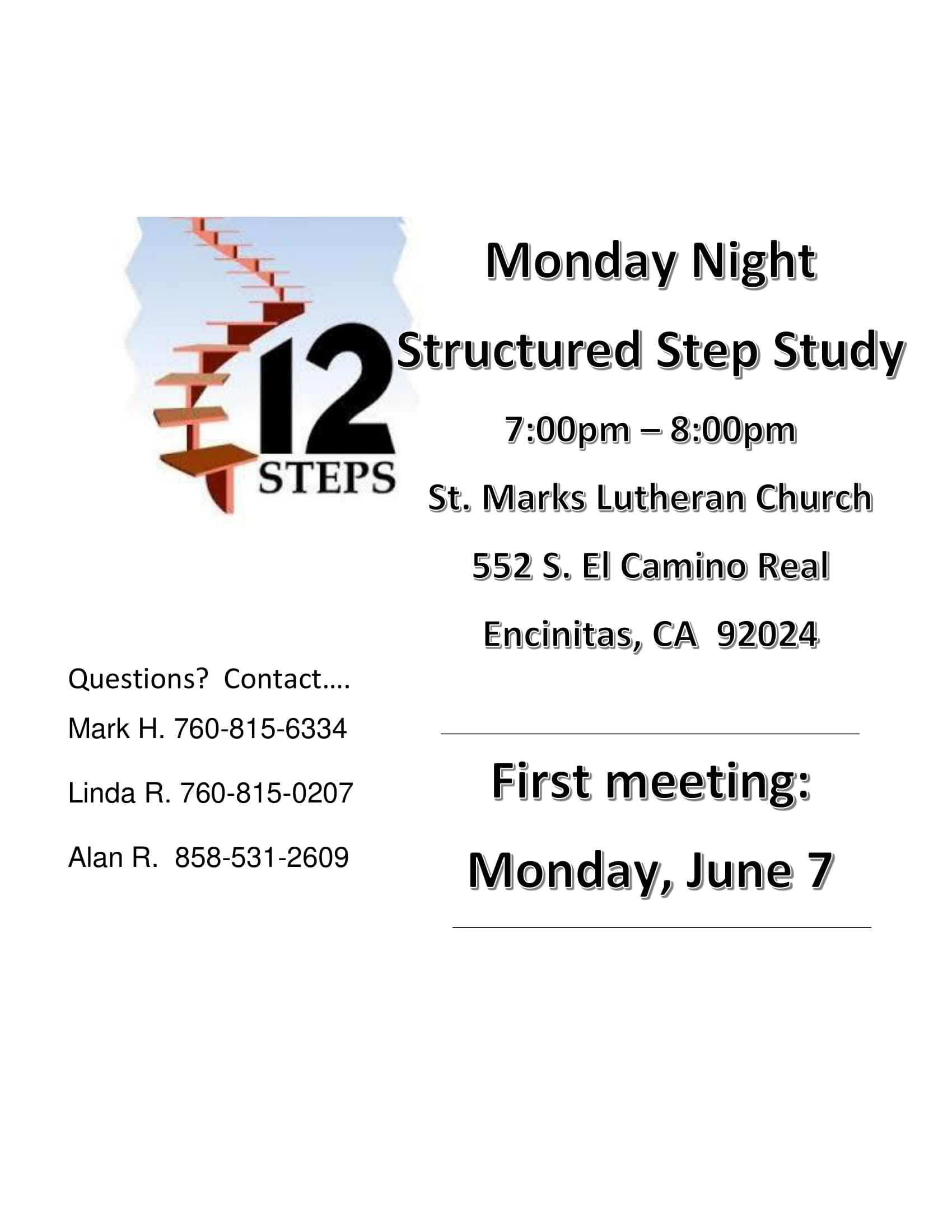 Structured Step Study